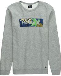 Hurley - Surf Check Paradise Crew Sweatshirt - Lyst