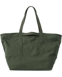 7fecf8a29b70 Lyst - Amuse Society Carried Away Woven Weekend Tote -
