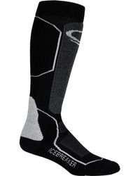 Icebreaker - Ski+ Medium Anatomical Over The Calf Sock - Lyst