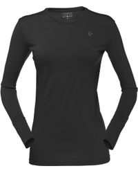Norrøna - Wool Round Neck Top - Lyst