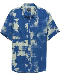 Quiksilver - Paokalani Palms Short-sleeve Shirt - Lyst