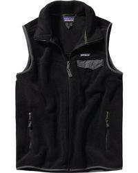 Patagonia - Lightweight Synchilla Snap-t Fleece Vest - Lyst