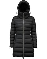 Add - Goose Down Coat With Hood - Lyst