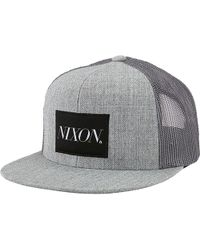 Lyst - Nixon Deep Down Ff Athletic Fit Hat in Blue for Men 4d26bdf5931