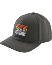 3d0b60cc584f1 Lyst - Patagonia  roger That  Baseball Cap in Gray for Men