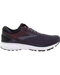 a2860f4f406 Lyst - Brooks Ghost 10 Running Shoe - Wide Width Available in Black ...