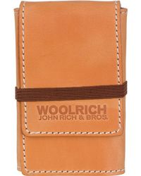 Woolrich - Card Holder With Elastic - Lyst