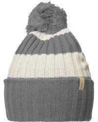 Lyst - Fjallraven Byron Solid Pom Hat in Blue for Men 1b4c16468bbd