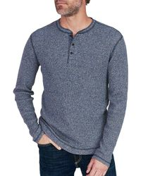 Faherty Brand - Jaspe Thermal Henley - Lyst
