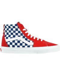 9050709491 Lyst - Vans Sk8-hi Canvas Sneaker for Men
