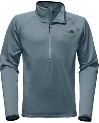 The North Face - Borod 1/4-zip Fleece Jacket - Lyst
