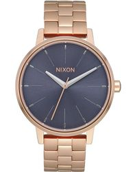 Nixon - Kensington A099. 100m Water Resistant 's Watch (37mm Watch Face. 16mm Stainless Steel Band) - Lyst