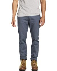 United By Blue - Dominion Twill Pant - Lyst