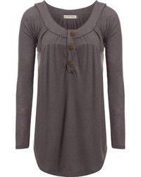 Free People - Must Have Henley Shirt - Lyst