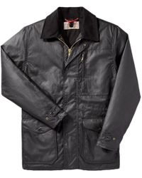Filson - Cover Cloth Mile Marker Jacket - Lyst