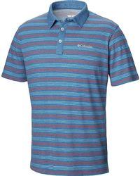 915d7e85 Lyst - Izod Heritage Classic Premium Pique Polo Shirt in Blue for Men