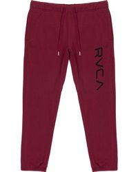 RVCA - Big Sweat Pant - Lyst