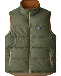 Lyst - Patagonia The Bivy Down Vest in Red for Men ada0ea965d0