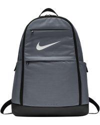 2ba240ceb1e525 Lyst - Nike Brasilia Backpack in Gray for Men