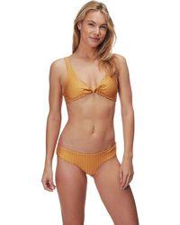 ffc4b0f08654d Lyst - Athleta Hana Reversible Wrap Bikini in Black