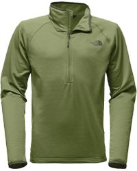 The North Face - Borod 1/4-zip Fleece Jacket - Lyst