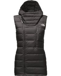 a6c12791aaca Lyst - The North Face Niche Hooded Down Vest in Purple