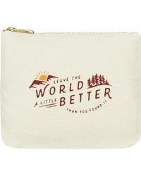 United By Blue - Canvas Pouch - Lyst