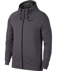 Nike - Hyper Dry Training Full-zip Hoodie Lt - Lyst