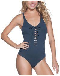 Maaji - Stargazer Heavenly Reversible One-piece Swimsuit - Lyst