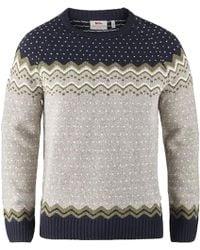 058edfdbe43b0 Fjallraven Sormland Crew Sweater (dark Olive) Men's Sweater for Men - Lyst