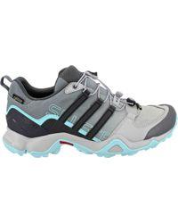 lyst adidas originali originali originali terrex ax2r scarpa marrone per gli uomini. bfcc01