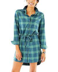 Carve Designs - Creston Flannel Dress - Lyst