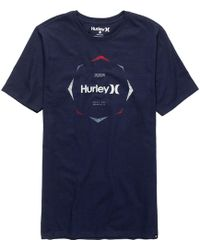 Hurley - Collide The Sky T-shirt - Lyst