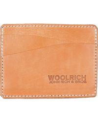 Woolrich - Card Holder - Lyst