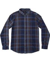 RVCA - Ludlow Flannel Shirt - Lyst