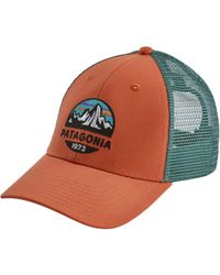 fef94239 Patagonia P6 Trucker Hat in Blue for Men - Lyst