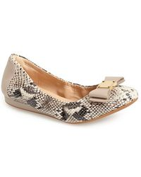 Cole Haan 'Tali' Bow Ballet Flat - Lyst
