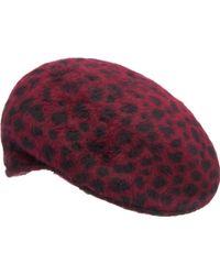 Marc By Marc Jacobs - Leopardprint Fauxfur Driving Cap - Lyst