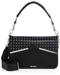McQ by Alexander McQueen Rosie Studded Shoulder Bag black - Lyst