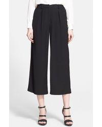 Rachel Zoe Women'S 'Marcella' Crop Wide Leg Pants - Lyst