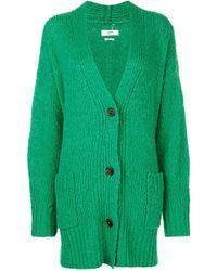 Étoile Isabel Marant - Sadlery Wool And Alpaca-blend Oversized Cardigan - Lyst
