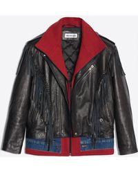 Balenciaga - Layered Fringe Jacket - Lyst