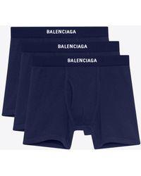 Balenciaga - Three-pack Boxers - Lyst