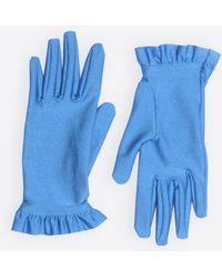 Balenciaga - Ruffles Gloves - Lyst