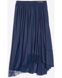 Balenciaga - Falda lencera - Lyst