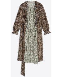 Balenciaga - Double Kaftan Night Gown - Lyst