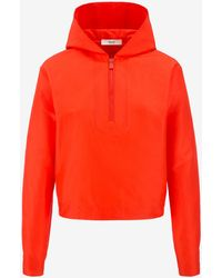 Bally - Long Sleeve Hooded Top - Lyst