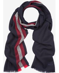 Bally - Wool Stripe Scarf - Lyst