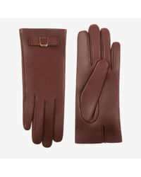 Bally - Bow Nappa Gloves - Lyst