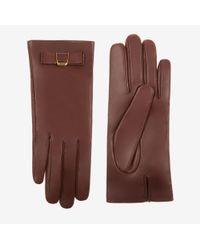 Bally   Bow Nappa Gloves   Lyst
